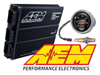 AEM Electronics EMS Wideband gauges